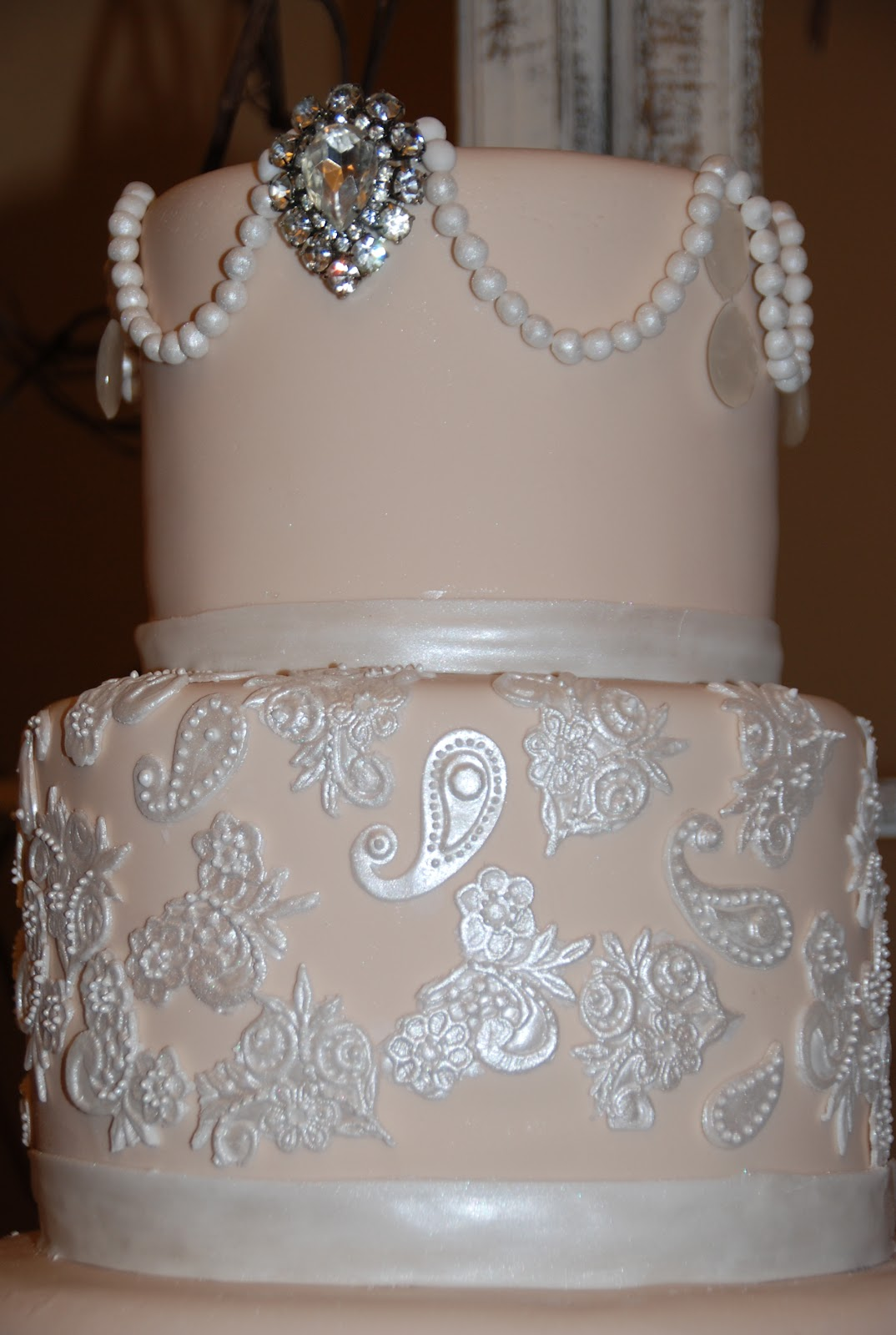 Wendy Woo Cakes A Country Shabby Chic Wedding Cake