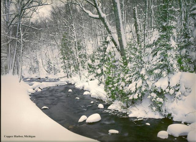 Sideline Grandma Glorious Michigan Winter