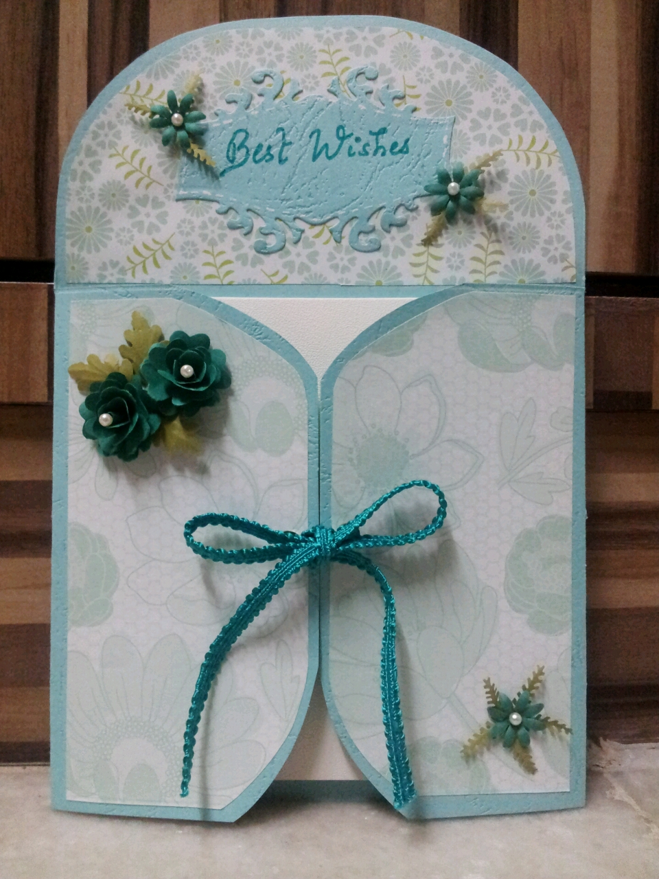 Creations For Every Occasion A Fancy Fold Ombre Card