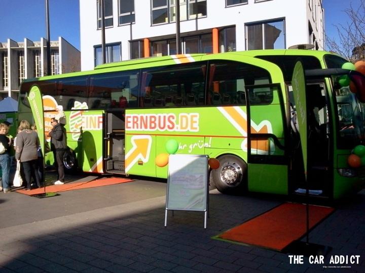 Meinfernbus.de grüner Bus Friedrichshafen