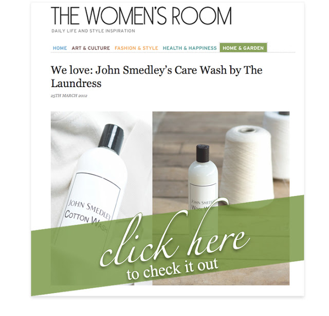 The Women's Room : John Smedley by the Laundress