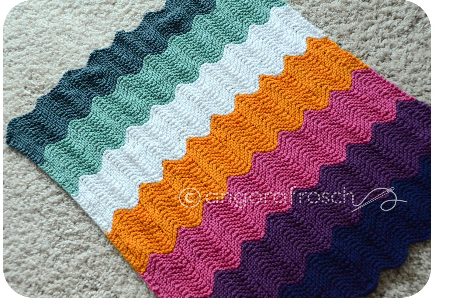 Awesome Häkeln Chevron Schal Muster Ideas - Decke Stricken Muster ...