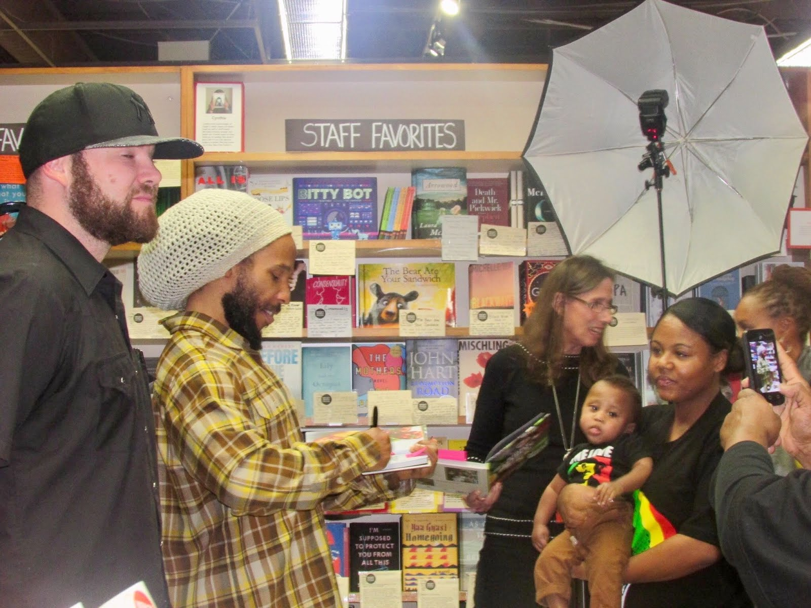 In the Kitchen with Ziggy Marley: Seven-Time Grammy Winner Launches Family Cook Book in Menlo Park,