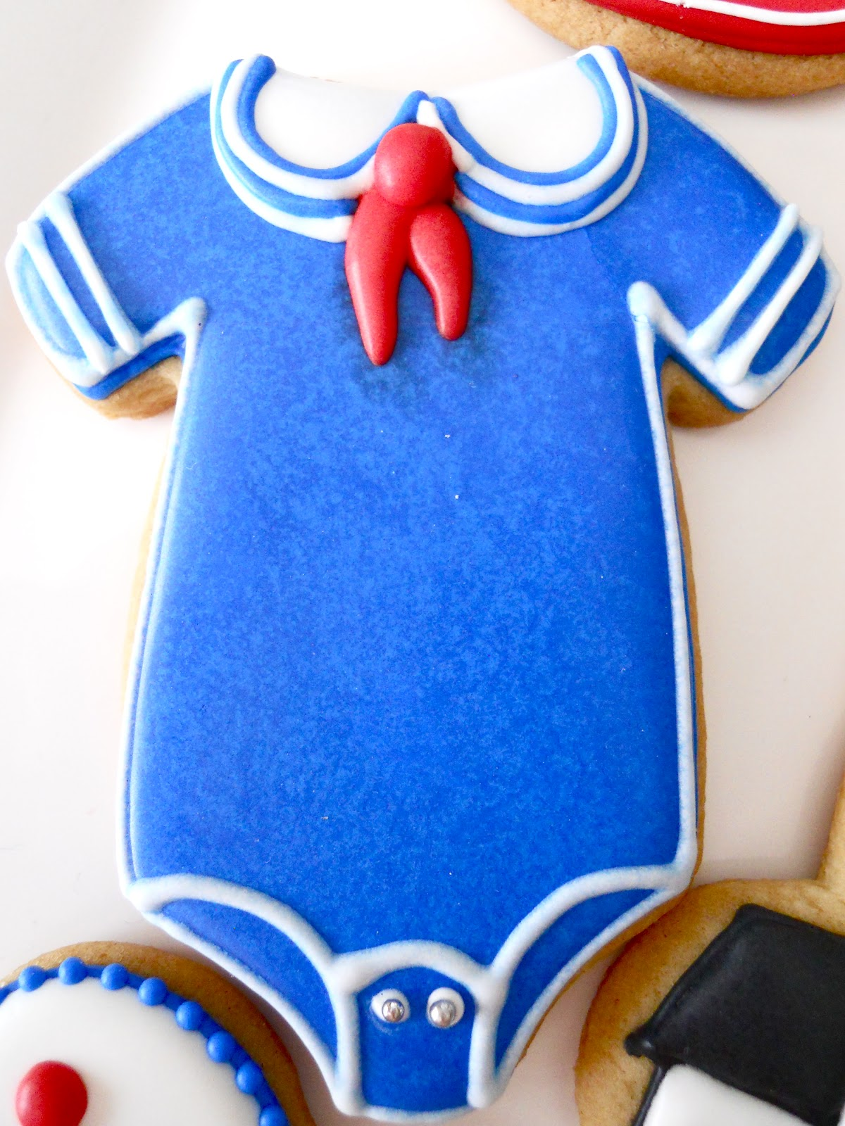 Oh Sugar Events Nautical Shower Cookies