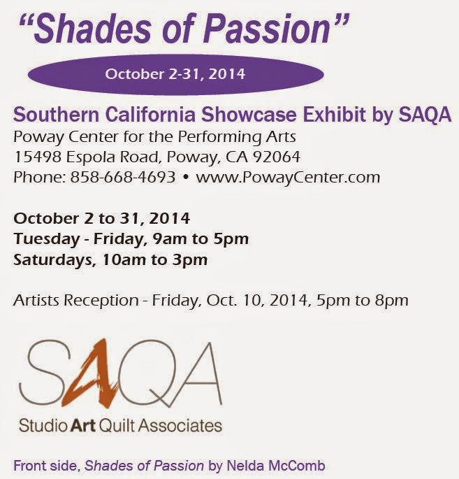 SAQA Shades of Passion