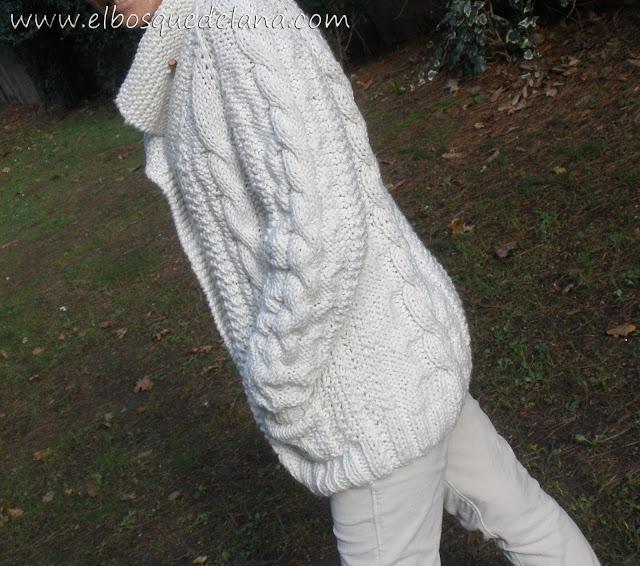 Como hacer una chaqueta de lana para mujer