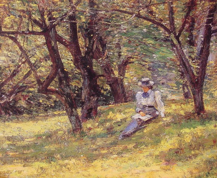 Theodore Robinson 1852-1896 | American impressionist/Realist painter