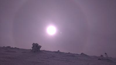 sol y nieve