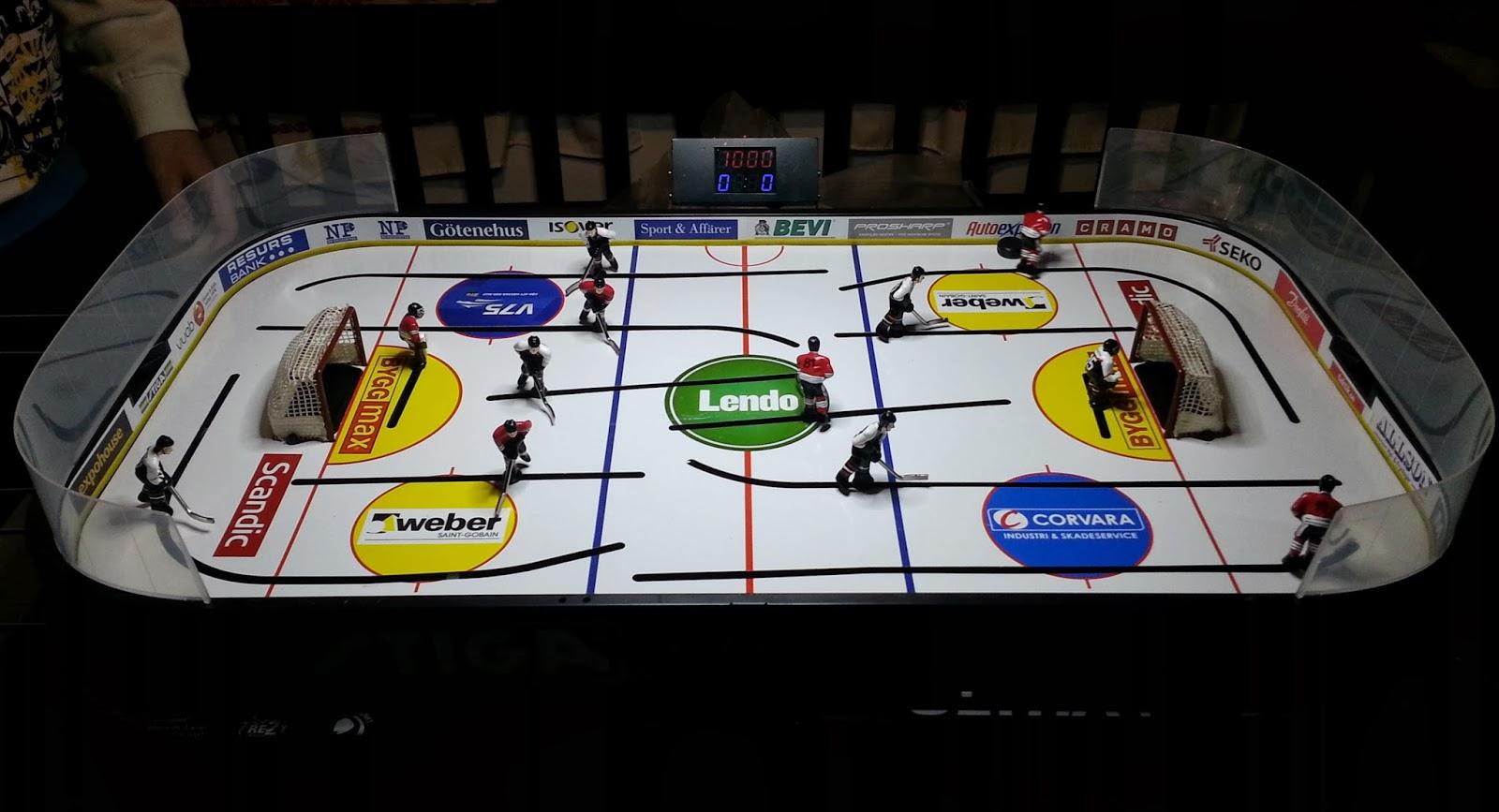 Legwinskij\'s Gadgets: STIGA table hockey custom scoreboard