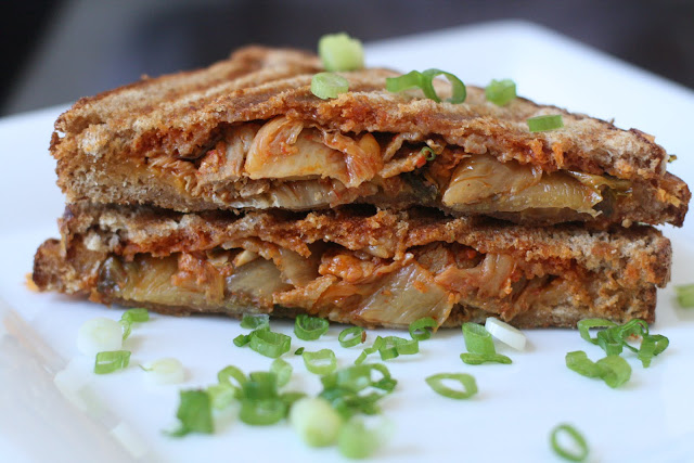 Grilled Kimchi Pork Belly Cheese Sandwich: How much do you really know ...