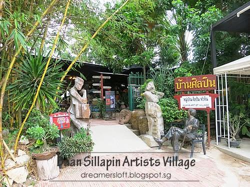 DreamersLoft: Hua Hin July 2014 Part VI - Plearn Wan Vintage Village, Baan Si...