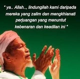 Doa Tok Guru Nik Aziz Nik Mat