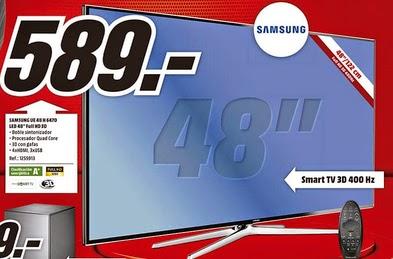Guiller krax review oferta mediamarkt tv samsung 48h6470 for Ofertas hornos media markt