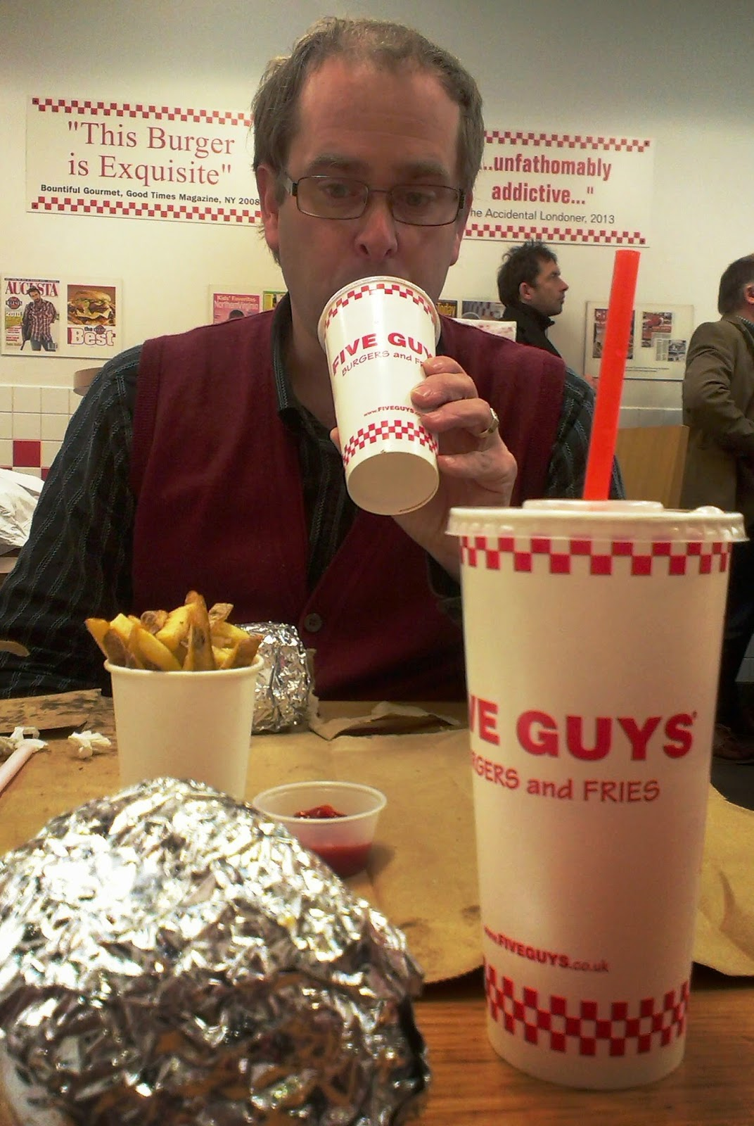 Five Guys Islington