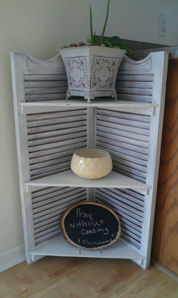 fairly simple project it is a little shabby chic accessory to add to