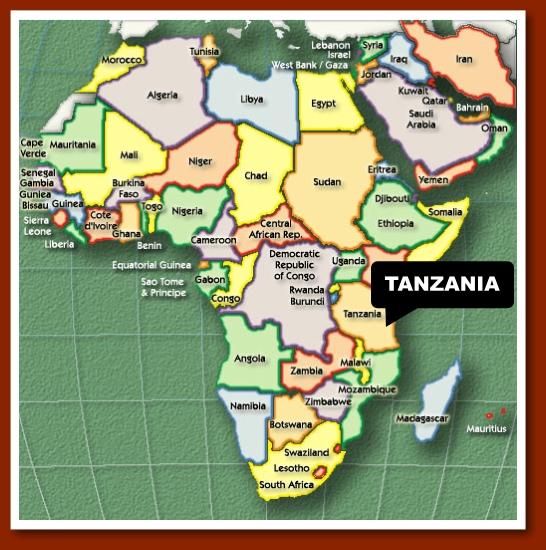 My Journey About Tanzania And Chimala - Where is tanzania located