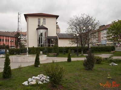Parcul din centrul Toplitei