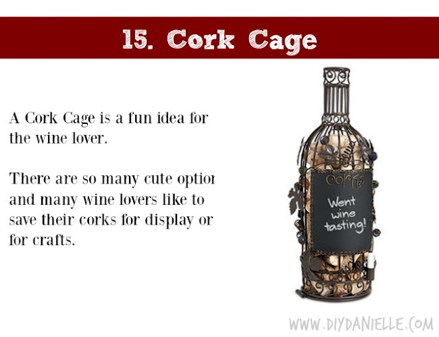 Holiday Gift Idea for Adults: Cork Cage