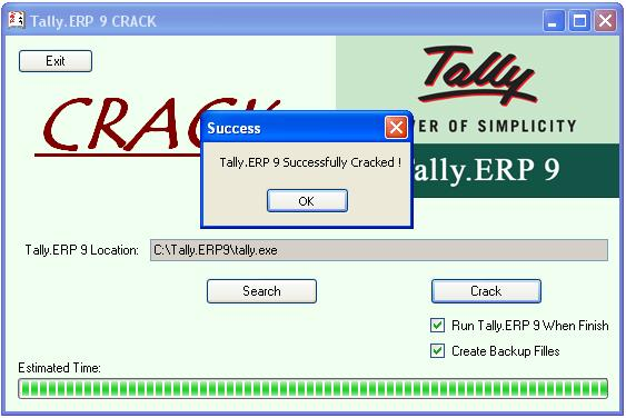 crack of tally erp 9