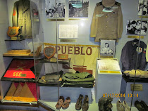 Crew mementos of captured USS Pueblo, Pyongyang, North Korea
