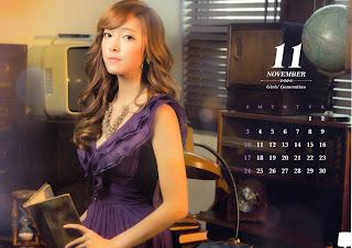 SNSD Jessica Desk Calendar 2013 2