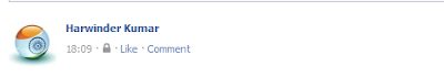 Wtite Blank Status In Facebook