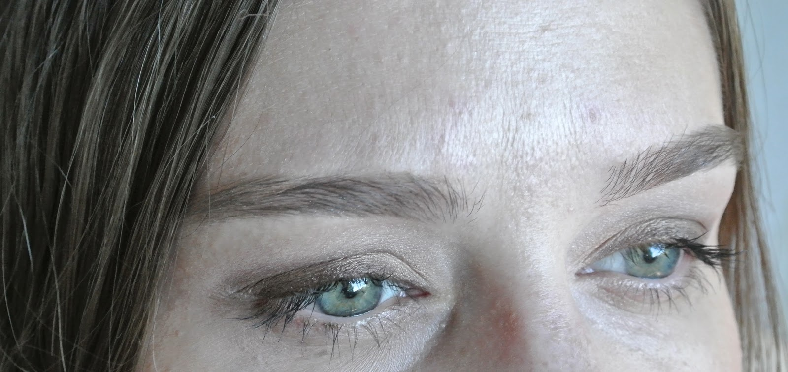 Close up of eye look