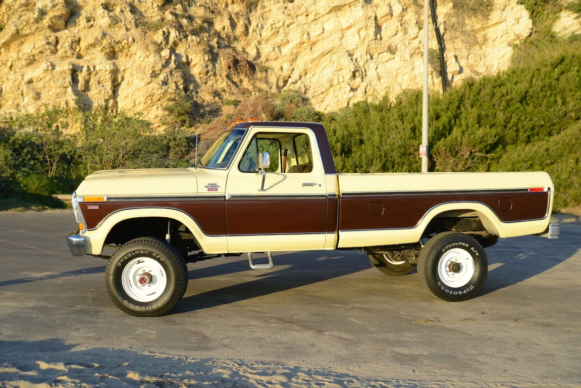 All American Classic Cars 1978 Ford F 250 Ranger Camper Special F150 Lariat Wiring Diagram Auto Diagrams Pickup Truck