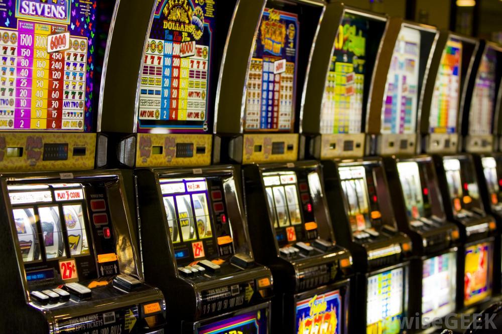 sala delle slot machine giocare