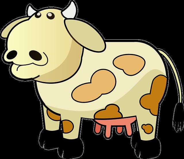gambar kartun sapi - gambar sapi