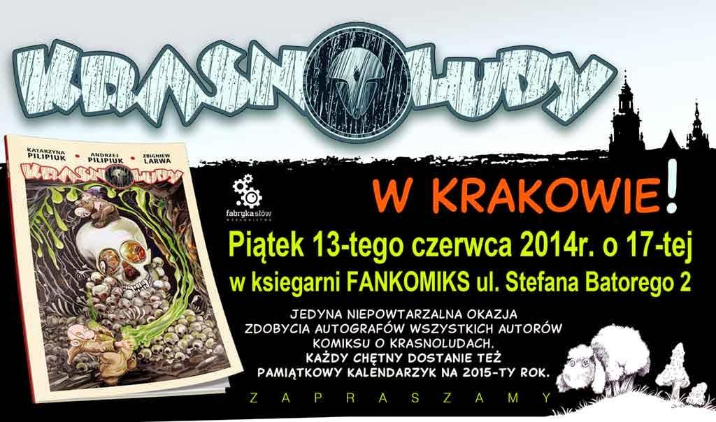 Krakow - krasnoludy - pilipiuk - larwa