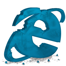 Internet Explorer perseguido e destruído