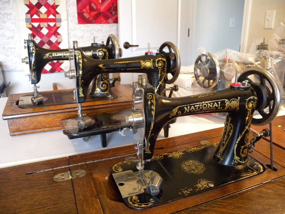 Two-Spool Sewing Machines made by National