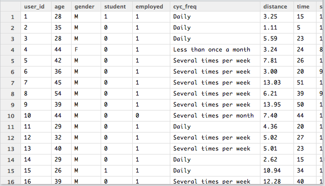 how to create the dataset in r
