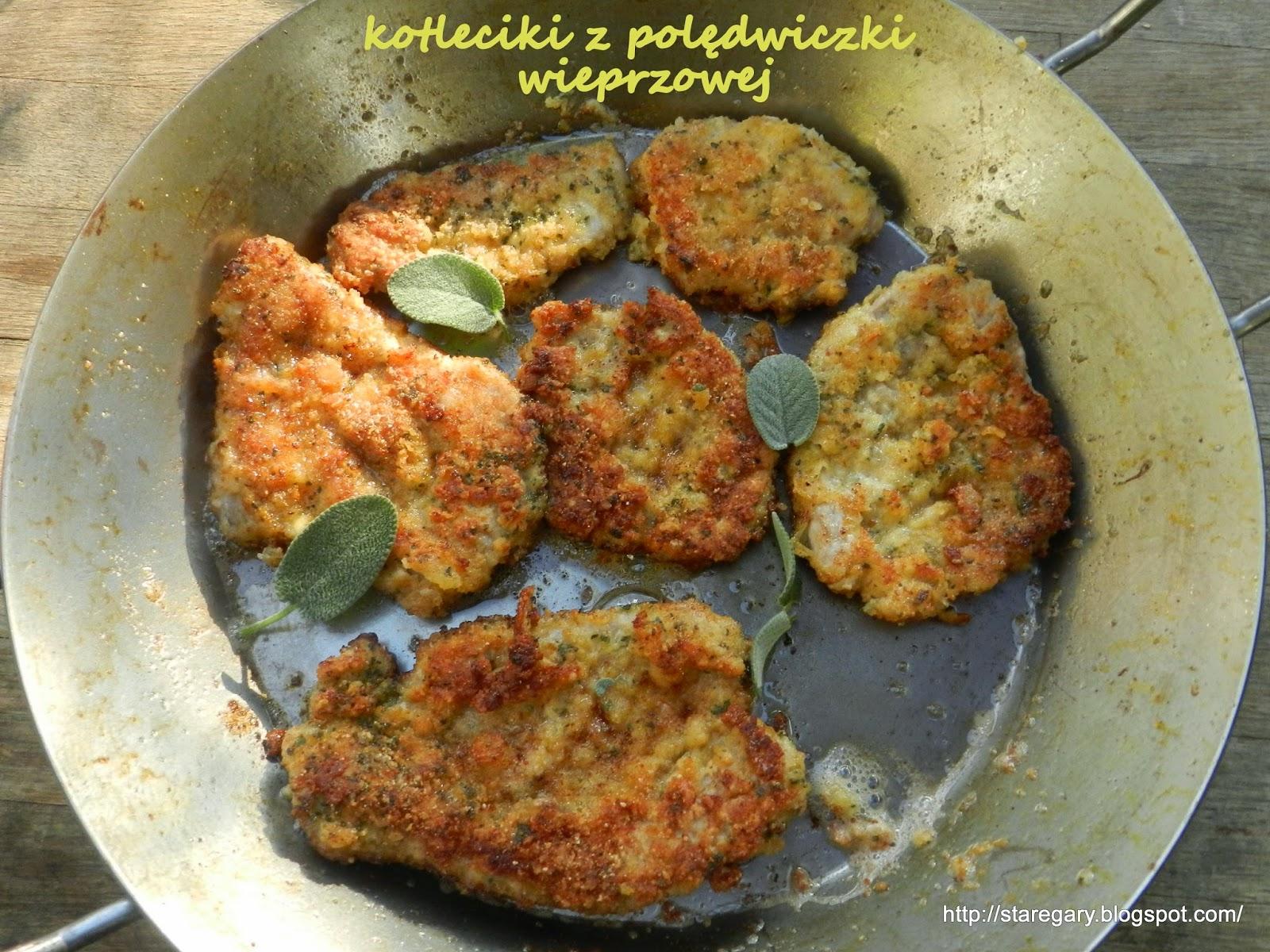 Kotleciki z polędwiczki wieprzowej