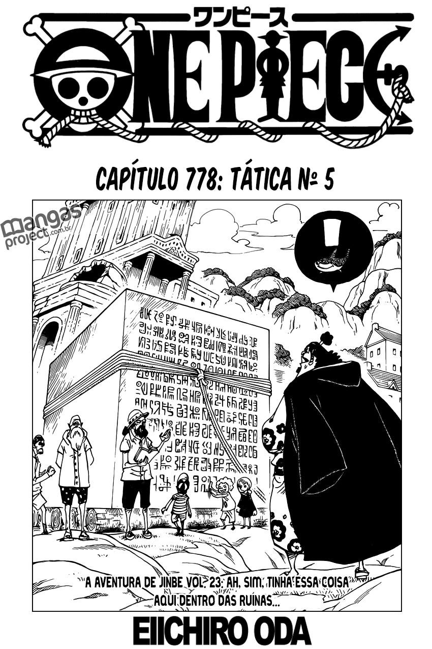 One Piece Mangá 778 Online