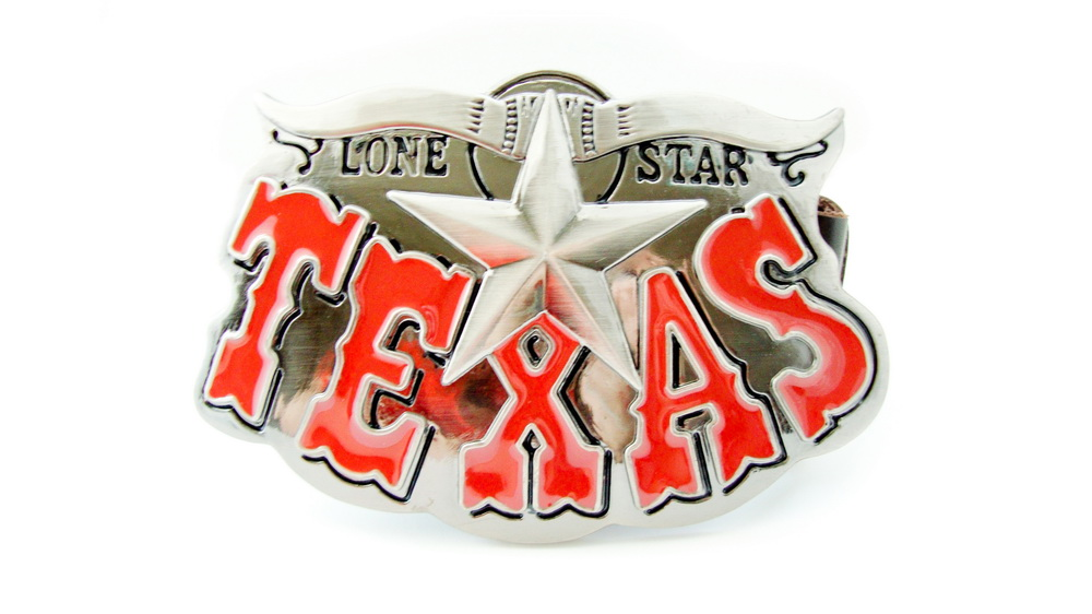 Texas, Belt, Buckles