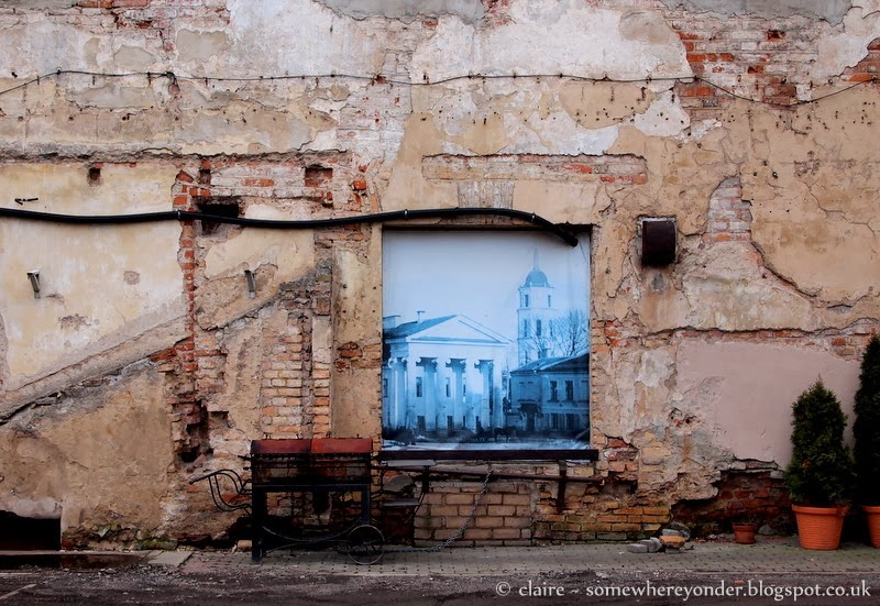 Street art and painting  - Vilnius, Lithuania