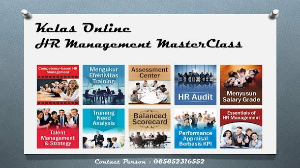 Kelas Online HR Management MasterClass