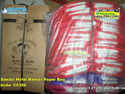 Sandal Hotel Kemas Paper Bag murah