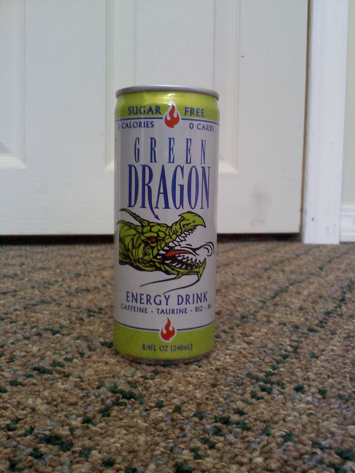 CAFFEINE!: Review for Green Dragon Sugar Free