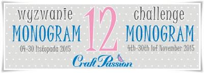 http://craftpassion-pl.blogspot.ie/2015/11/wyzwanie-12-monogram-challenge-12.html