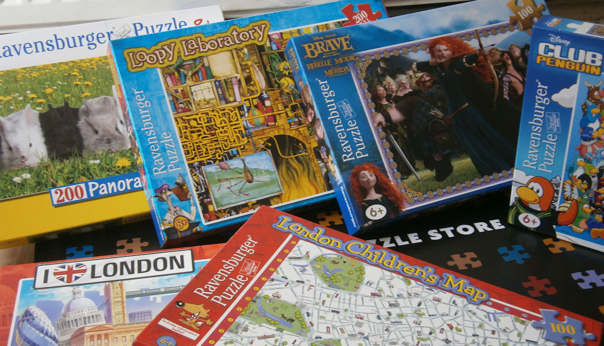 ravensburger puzzles really are great quality and the age ratings they give the puzzles are just about spot on the puzzles aimed at children aged 6 and