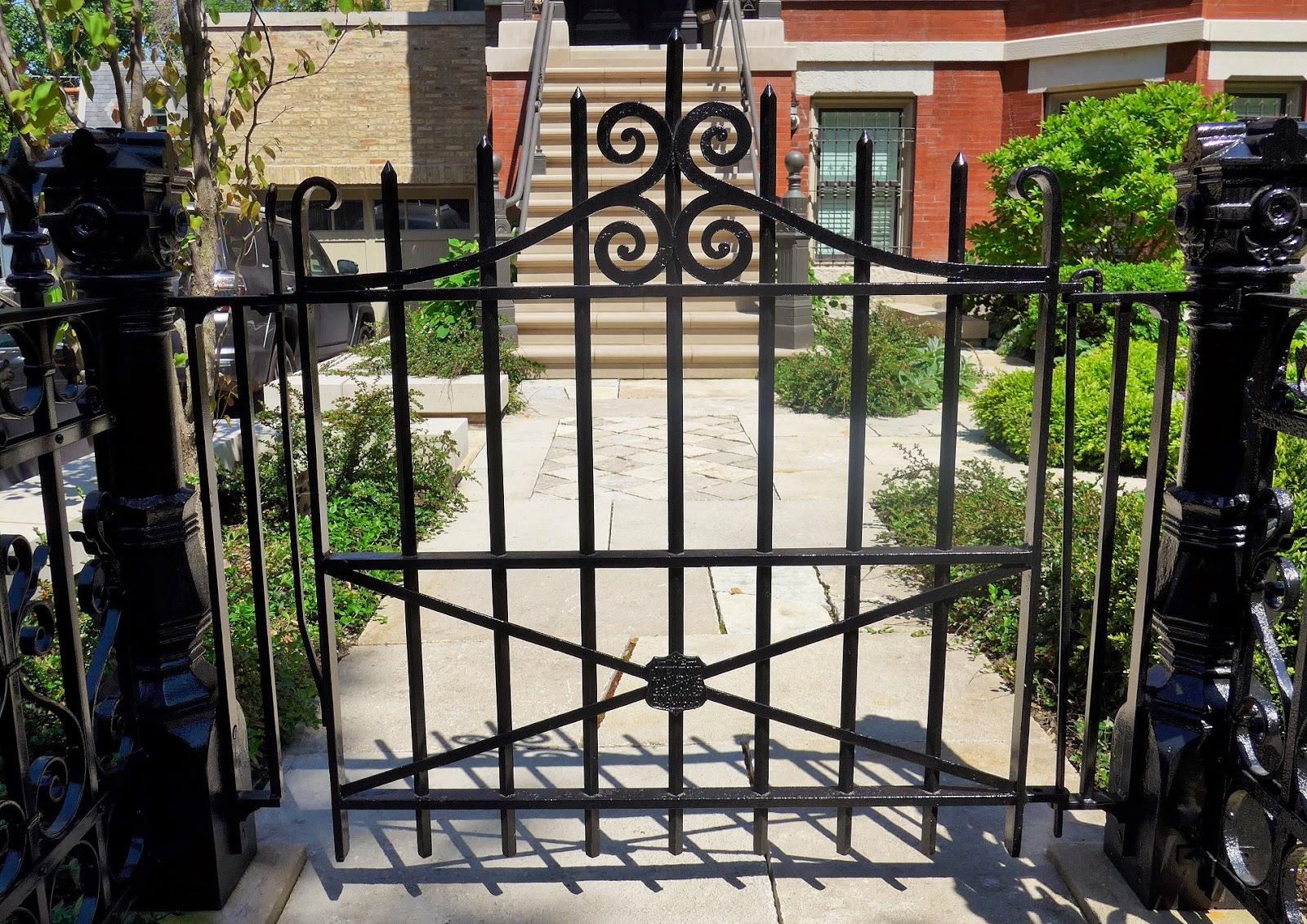Antique iron fences in chicago forgotten galicia