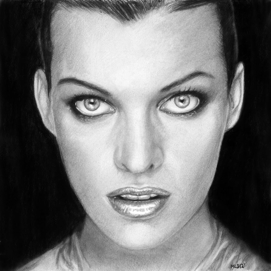 05-Milla-Jovovich-Martin-Lynch-Smith-MLS-art-Celebrity-Drawings-www-designstack-co