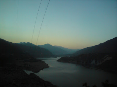 Scenic sunset on the way to Uttarkashi from Rishikesh