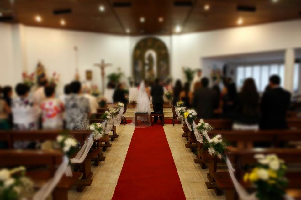 Decoración de Iglesias para bodas en Ibiza