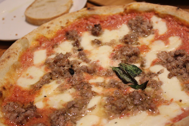 Manfredina pizza at Eataly, NYC