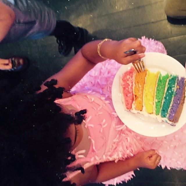 Blue Ivy Birthday Cake