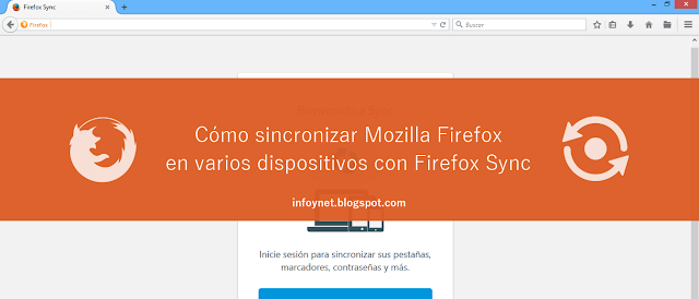 Cómo sincronizar Mozilla Firefox en varios dispositivos con Firefox Sync